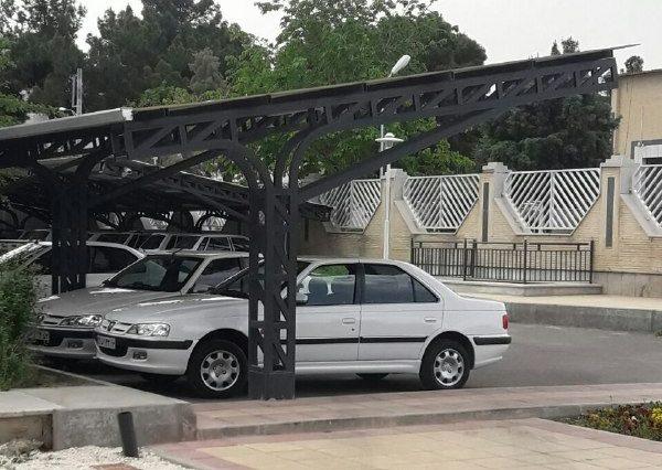 سایبان خودرو های اداری و مناطق تجاری